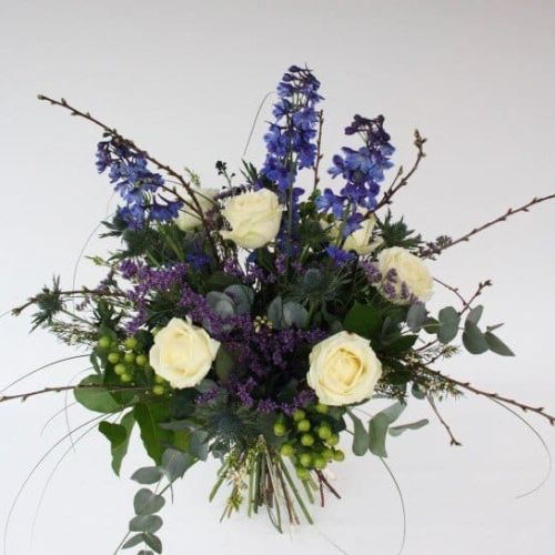 hand tied flowers glasgow