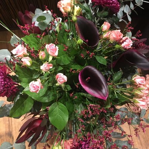 flowers delivered glasgow November